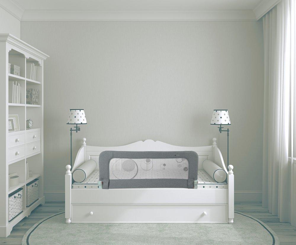 Bo Jungle zábrana na postel B-BEDRAIL Grey