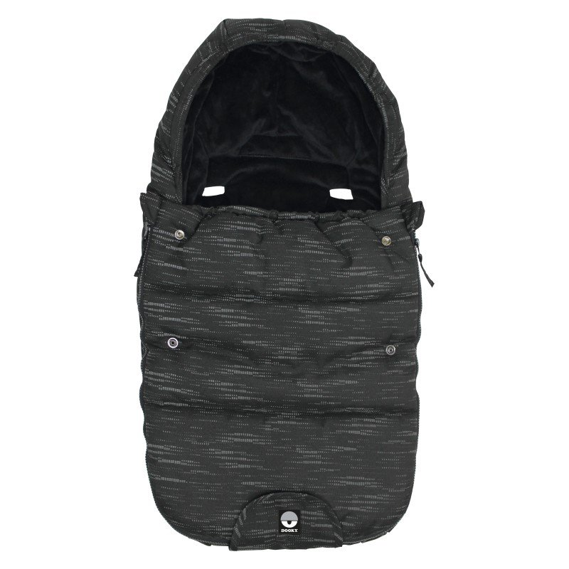 Footmuff vel. S MATRIX REFLECTIVE DeLuxe