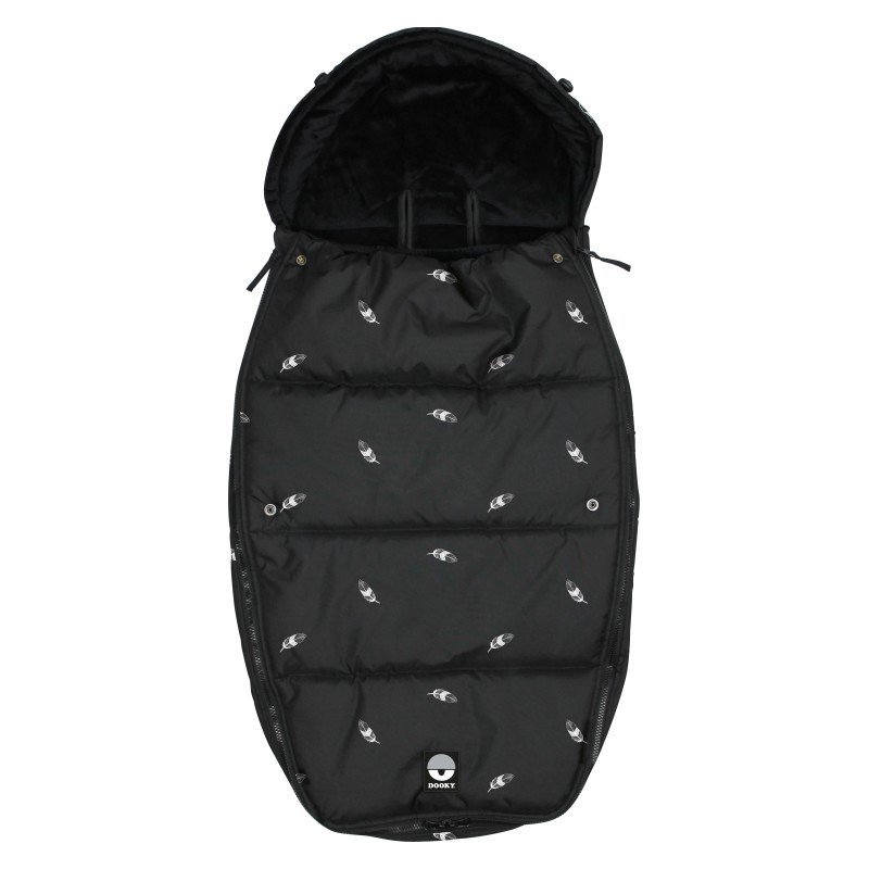 Footmuff vel. L FEATHERS DeLuxe
