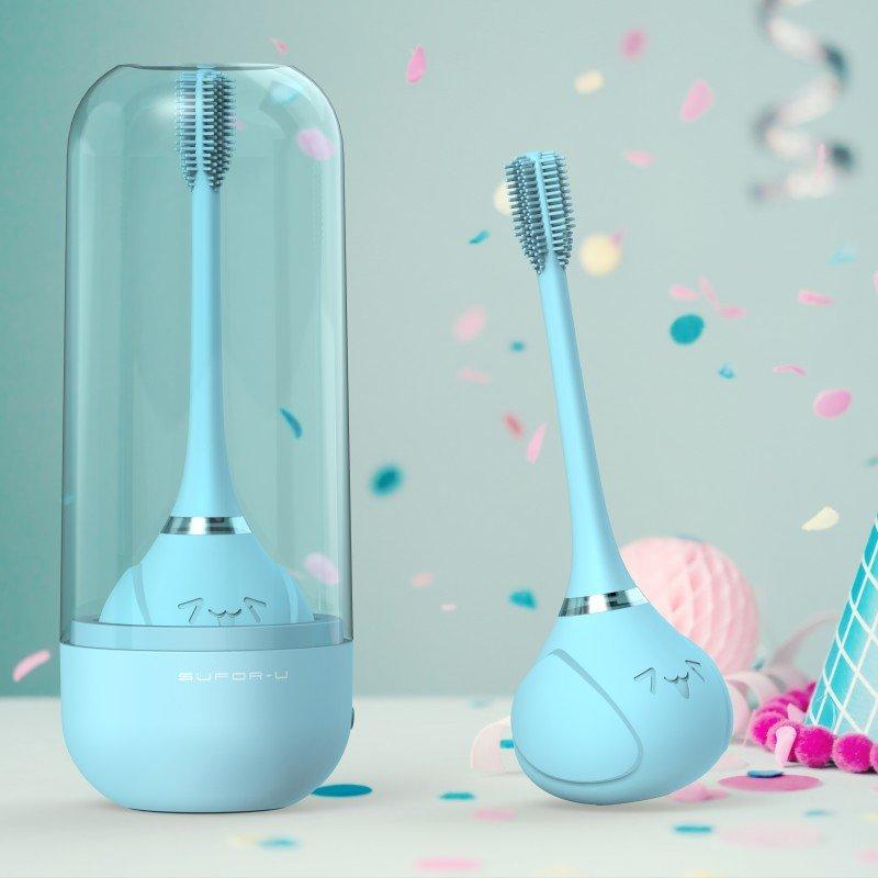 innoGIO elektronický sonický zubní kartáček Blue