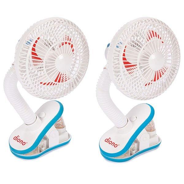 Diono ventilátor na kočárek Stroller Fan 2ks