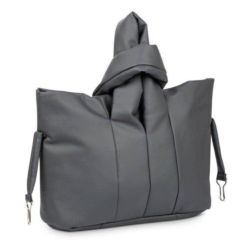 Bo Jungle hluboký kočárek B-LUMMY Shadow Grey Eco Leather