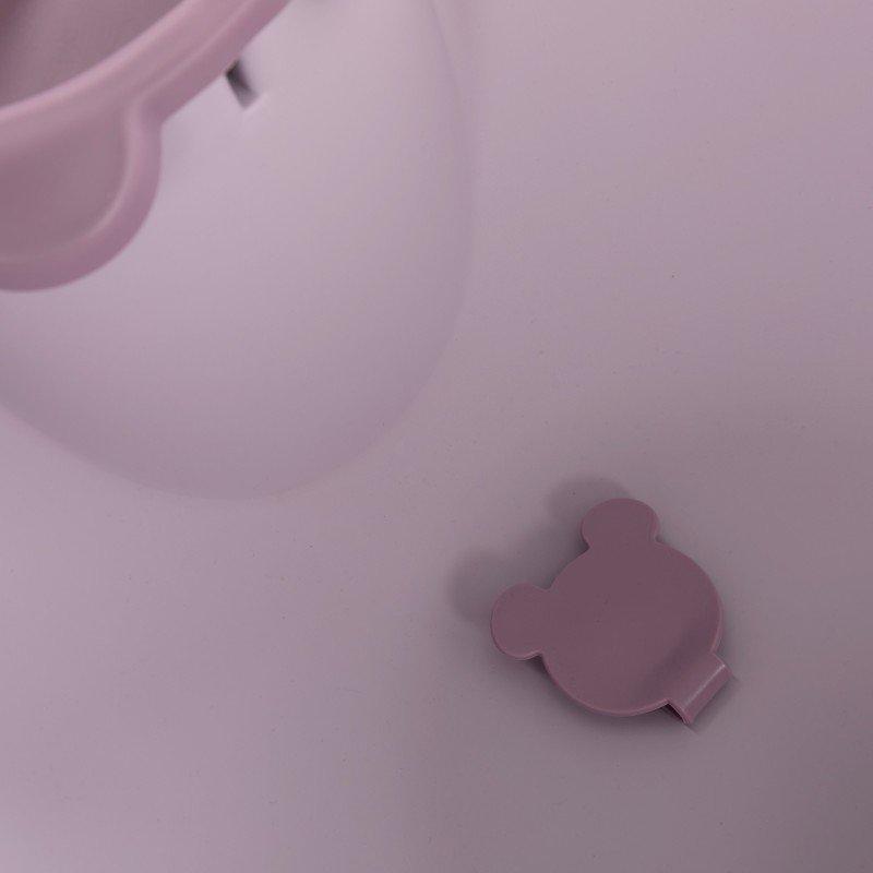 Bo Jungle vanička B-BATH BEAR Pastel Pink