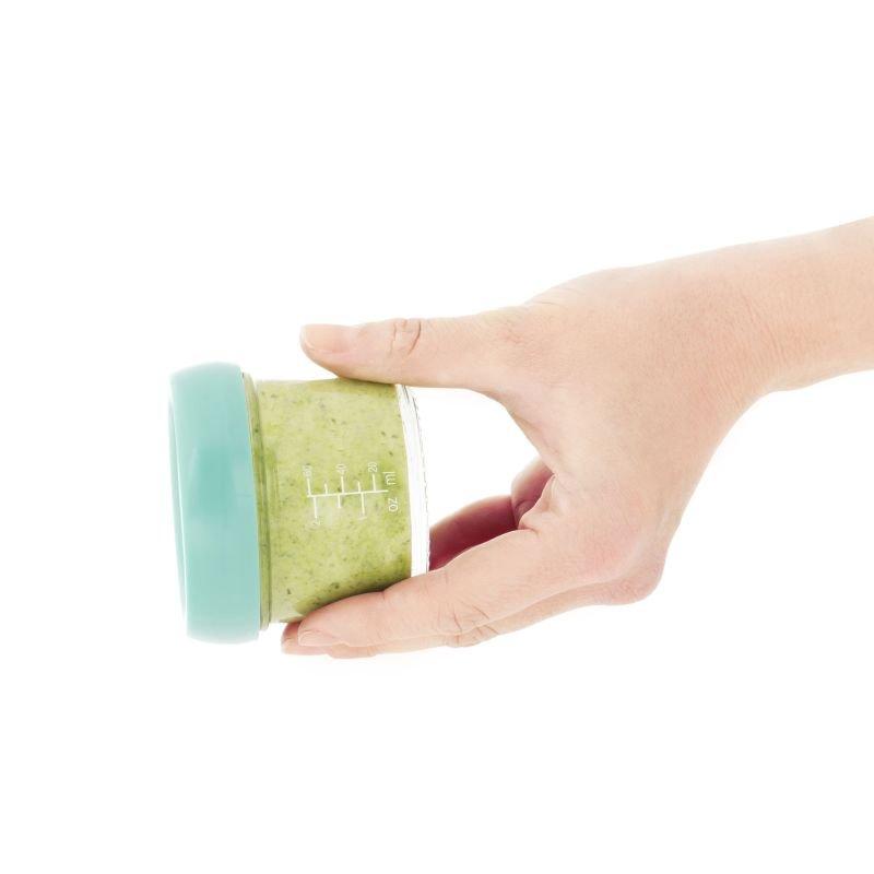 BabymoovSkleněné misky s víčky MULTISET (4x 120ml + 4x 240ml)