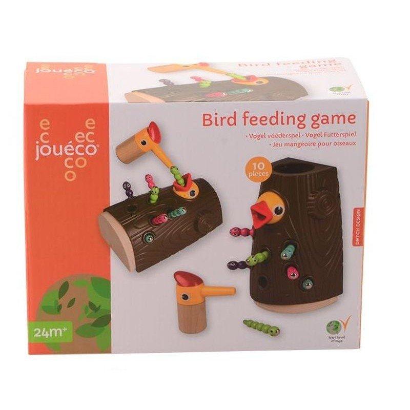 Jouéco magnetická hra Krmení ptáčků 24m+