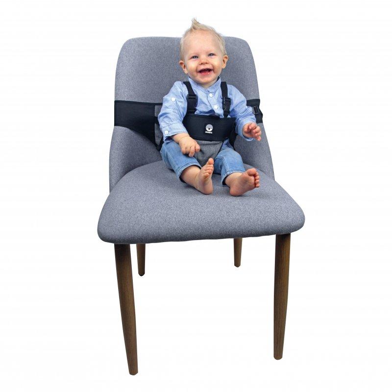 Dooky přenosná textilní židlička Travel Chair Black