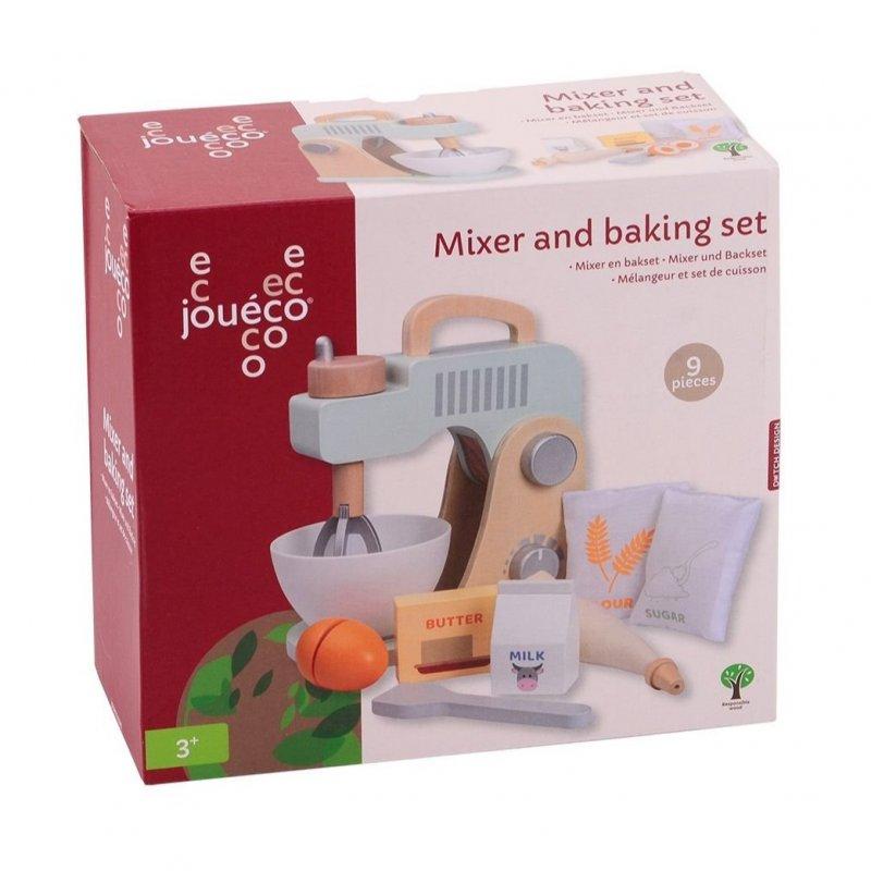Jouéco dřevěný mixér a sada na pečení 36m+