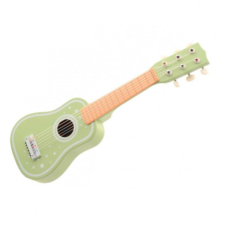 Jouéco dřevěná kytara 36m+