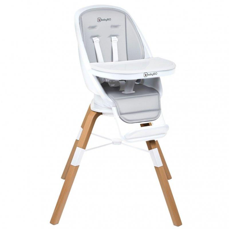 BABYGOJídelní židlička CAROU 360° White