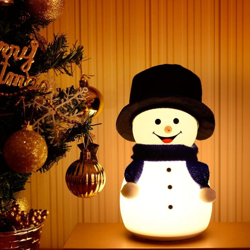 innoGIO lampička SNOWMAN s melodií