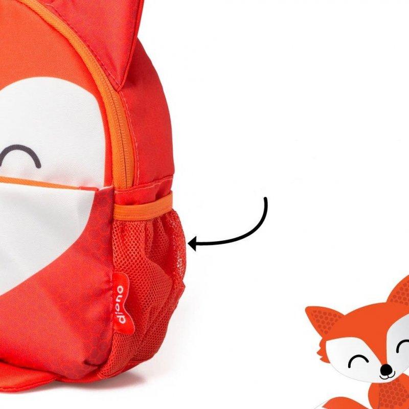 Diono batůžek a vodící kšíry Sure Steps Fox