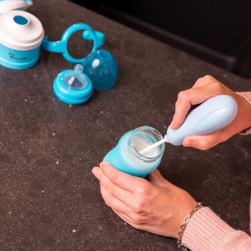 Bo Jungle mixér na sušené mléko B-Powder Mixer Pastel Blue