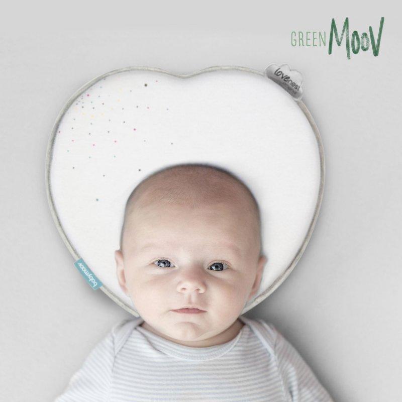 Babymoov podhlavníček LoveNest Original White EU