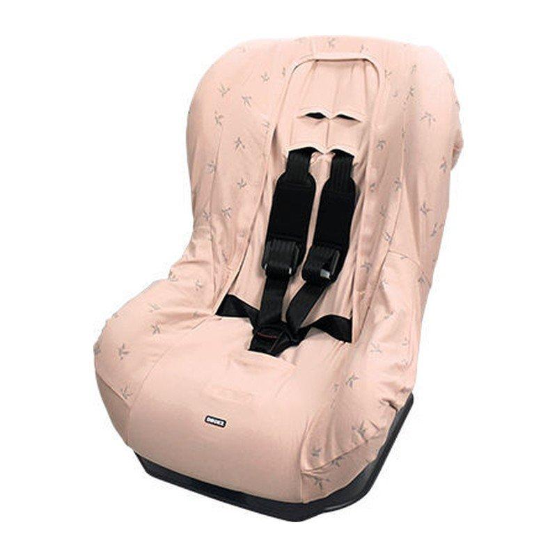 Potah na autosedačku Seat Cover Group1 Origami Swallow Pink