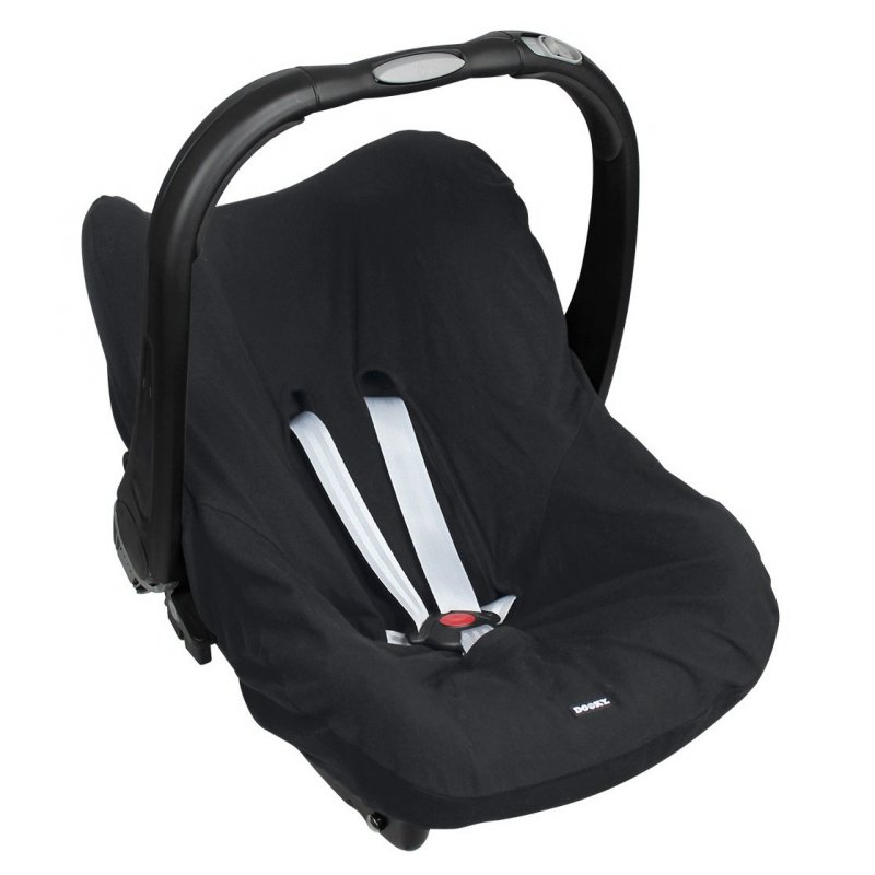 Potah na autosedačku Seat Cover 0+ UNI Black