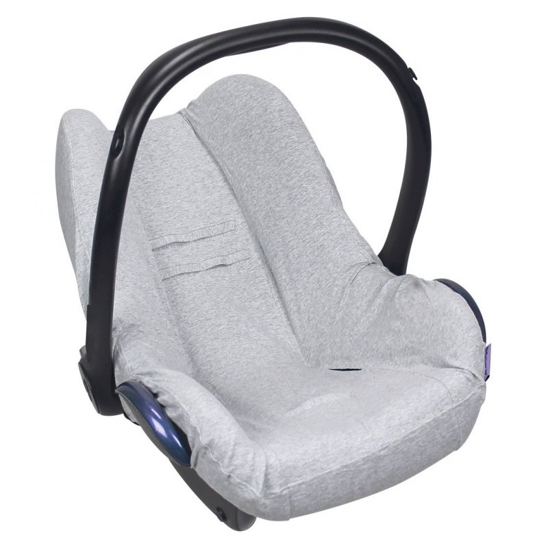 Potah na autosedačku Seat Cover 0+ UNI Light Grey Melange