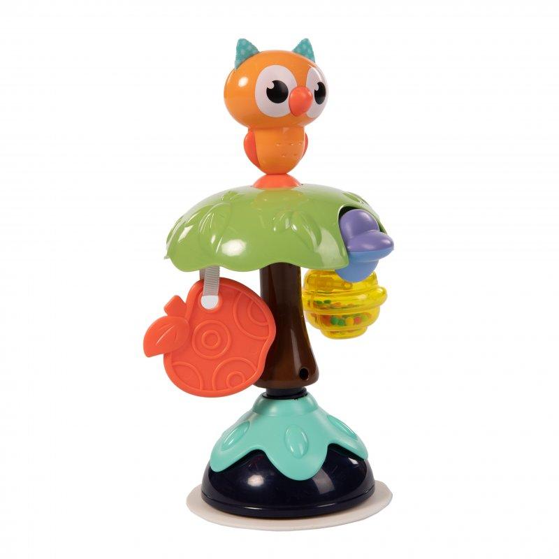 Bo Jungle hračka s přísavkou Smart Owl