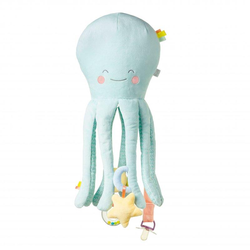 Saro Baby multifunkční chobotnice Happy Sea Mint