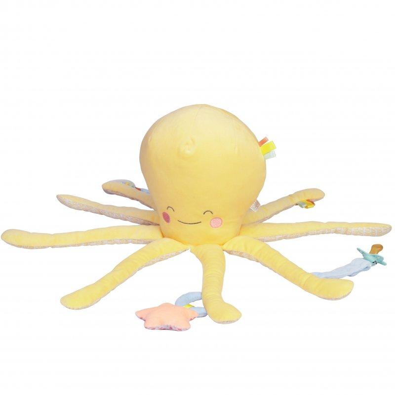Saro Baby multifunkční chobotnice Happy Sea Yellow