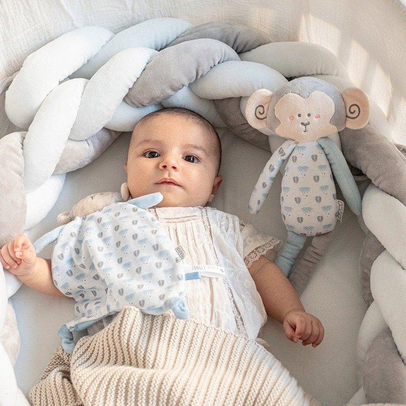 Saro Baby copánkový mantinel po postýlky Grey