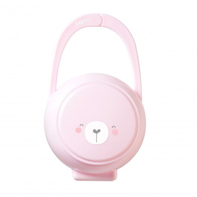 Saro Baby pouzdro na dudlík Pink
