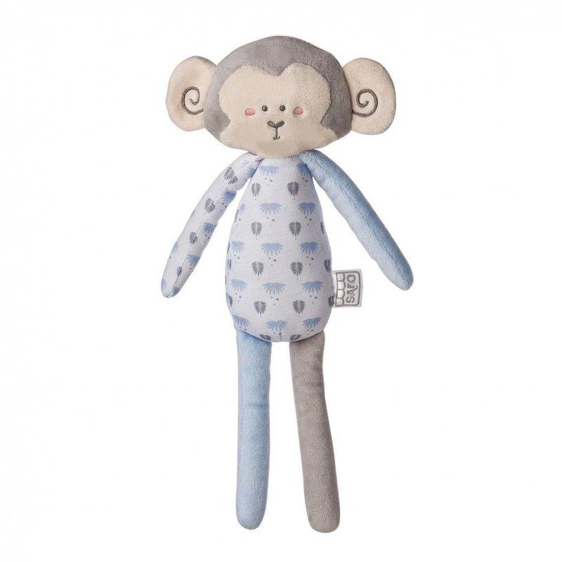 Saro Baby plyšová hračka Jungle Party Longlegs Monkey