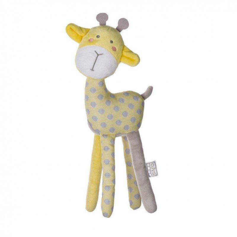 Saro Baby plyšová hračka Jungle Party Longlegs Giraffe