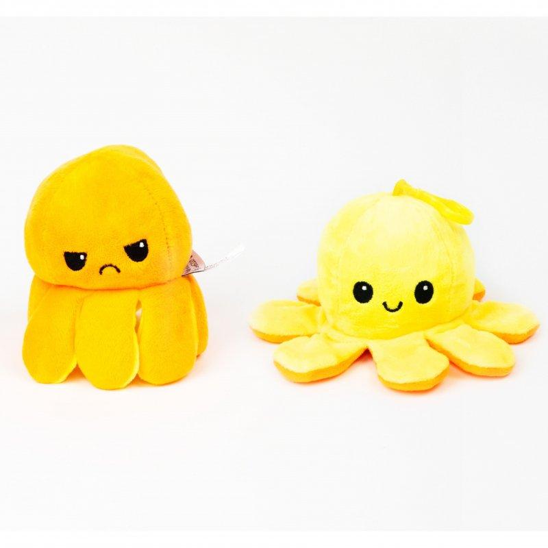 innoGIOPlyšová chobotnice 8cm Yellow/Orange