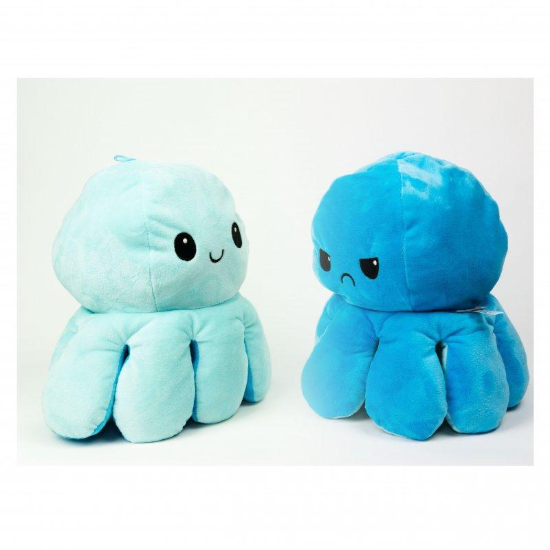 innoGIOPlyšová chobotnice 16cm Blue